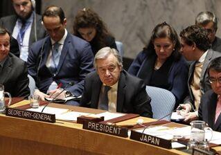 国际英语新闻:UN chief warns against military action on Korean Peninsula