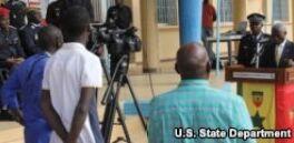VOA常速英语:U.S. Assistance for Senegalese Law Enforcement
