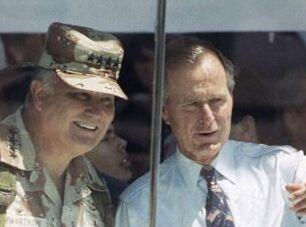 钱柜777官方网站:George H.W. Bush: Cautious