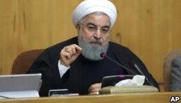 VOA慢速英语:特朗普盛赞伊朗示威者