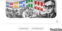 谷歌涂鸦纪念印度裔美国科学家