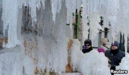 VOA慢速英语:极寒天气正影响美国大部分地区