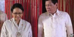 印度尼西亚菲律宾就安全合作问题举行会谈