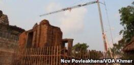 VOA常速英语:Preserving Cambodia's Cultural Treasures