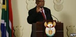 南非总统雅各布・祖马辞职