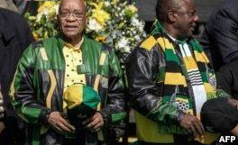 VOA慢速英语:南非执政党要求总统祖玛下台