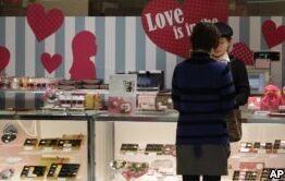 VOA慢速英语:世界各地的情人节传统
