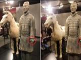 兵马俑美国展出被盗走拇指!博物馆里办派对安保漏洞引争议