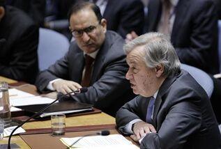 钱柜777官方网_钱柜娱乐官方网站-钱柜777官方网站:UN chief deplores failure to implement UN resolution on Syria