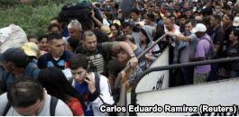 委内瑞拉人逃到哥伦比亚 难民危机恶化