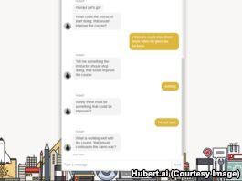 """钱柜777官方网站:新的人工智能技术让学生通过""""聊天""""来评价教授"""