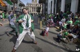 钱柜777官方网站:圣帕特里克节 每个人都会成为爱尔兰人