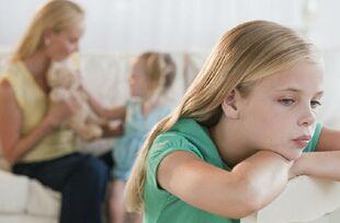 调查显示 父母确实会偏爱多个孩子中的一个