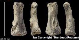 VOA慢速英语:沙特阿拉伯发现的古代指骨已有9万年历史