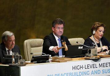 国际英语新闻:Spotlight: UN officials call for new approach to sustaining peace