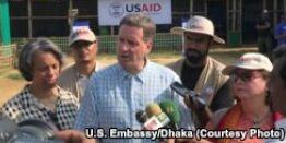 VOA常速英语:U.S Announces More Aid for Displaced Burmese
