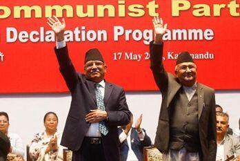 国际英语新闻:Nepal's 2 major parties merge to form Nepal Communist Party