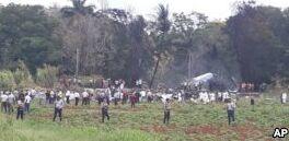 VOA慢速英语:古巴坠机事故致100余人遇难