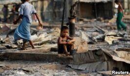 VOA慢速英语:大赦国际将缅甸军方对罗兴亚的罪行联系起来
