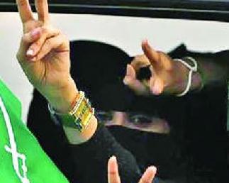 英语访谈节目:沙特女性终于上路了