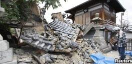 VOA慢速英语:日本大阪附近发生致命地震