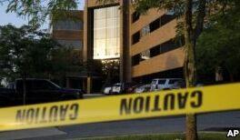 VOA慢速英语:美国马里兰州一报社发生枪击案