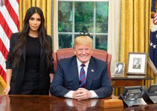 为女犯请愿减刑,卡戴珊会见了总统川普