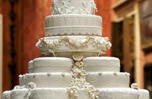 英国路易小王子受洗 威廉凯特请宾客吃七年前的婚礼蛋糕