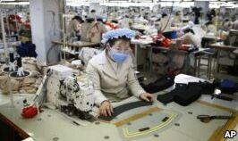 VOA慢速英语:韩国企业关注与朝鲜的联合工业园