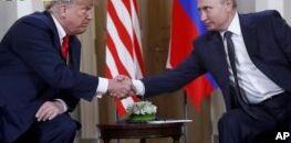 VOA慢速英语:特朗普称没有理由相信俄罗斯干涉美国大选