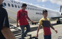 团聚家庭重返危地马拉