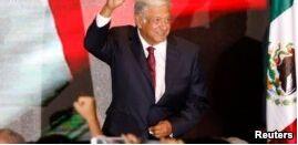 VOA慢速英语:奥夫拉多尔赢得墨西哥总统选举