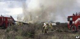 墨西哥飞机失事中无人员遇难