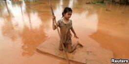 幸存者回忆老挝大坝坍塌的恐怖