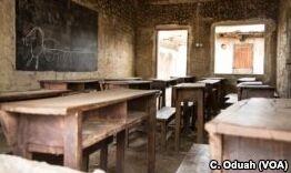 VOA慢速英语:尼日利亚答案博科圣地的反教育活动