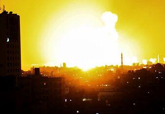 国际英语新闻:Israel strikes 12 sites across Gaza amid recent escalation