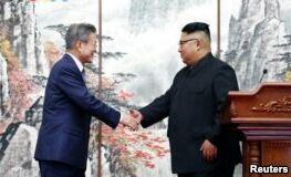 VOA慢速英语:朝鲜承诺关闭导弹测试中心