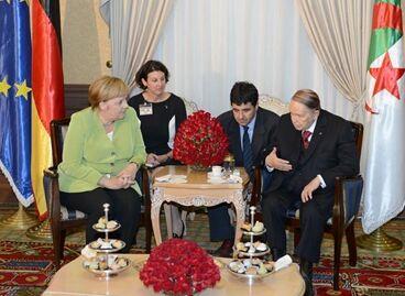 国际英语新闻:Illegal immigration, terrorism, economy on agenda of Merkel's Algeria visit