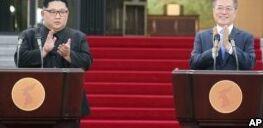 VOA慢速英语:韩国领导人应该讨论核问题还是军事局势?