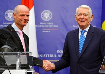 国际英语新闻:Romanian FM reiterates desire to join Schengen
