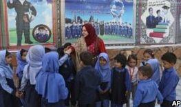 VOA慢速英语:阿富汗人投票在即 妇女寻求扩大的权利