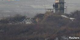 朝韩开始从边境清除地雷