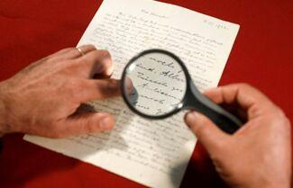 爱因斯坦1922年预言信以近4万美元的价格拍出