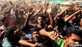 VOA慢速英语:孟加拉停止将难民遣返缅甸的计划