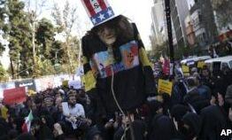 VOA慢速英语:美国再次对伊朗核计划施加全面制裁