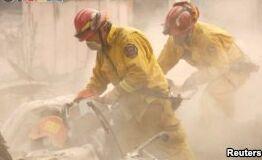 VOA慢速英语:官方称加利福尼亚大火后仍有100人失踪