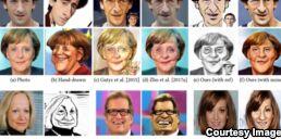 VOA慢速英语:人工智能娱乐:机器学习制作卡通脸
