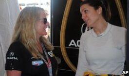 VOA慢速英语:参加佛罗里达州代托纳市大型赛车比赛的女子车队