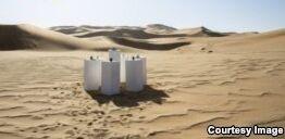 VOA慢速英语:Artist Gives 80s Hit 'Africa' Permanent Desert Home