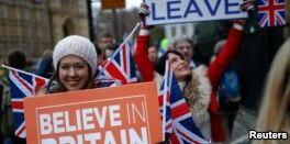 VOA慢速英语:英国议会否决梅首相的脱欧协议